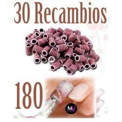 30x Lima Recambio para torno de uñas nº180