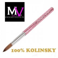 Pincel M evinails 100% Kolinsky Profesional nº6