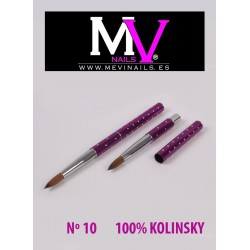 comprar Pincel 100 % Kolinsky Profesional nº10 Mevinails