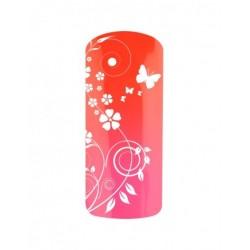Esmalte Permanente Térmico Neon Rojo - Rosa
