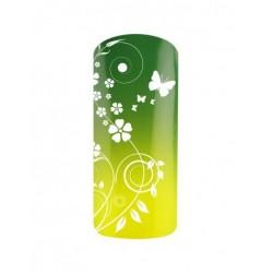 Esmalte Permanente Térmico Neon Verde - Amarillo