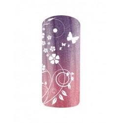 Esmalte Permanente Rosa - Lila Metalizado