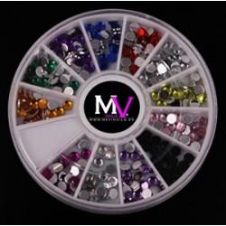 Rueda decorativa mevinails n14 pidras de cristal