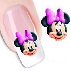 Pegatina nails Nº 15 Mickey - Minnie - Disney