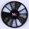 Rueda decorativa piedras 3D 1mm nº 18