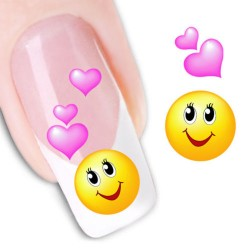 Pegatina nails Nº 33 Emoji