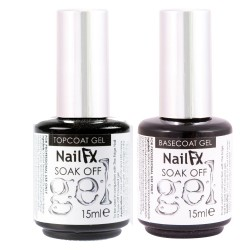 Kit Top Coat Y Baee Coat The edge nails Alto brillo
