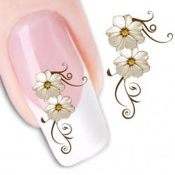 Pegatina nails Nº 34 Flores de venta en mevinails