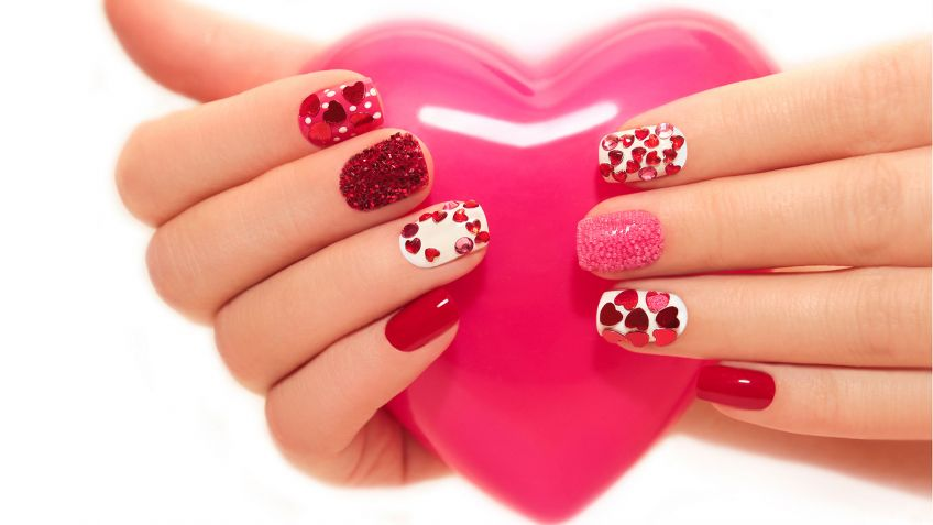 manicura san valentin mevinails